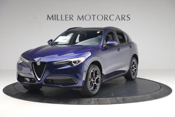 New 2021 Alfa Romeo Stelvio Ti Sport Q4 for sale $55,700 at McLaren Greenwich in Greenwich CT 06830 2