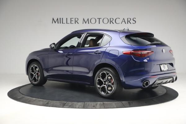 New 2021 Alfa Romeo Stelvio Ti Sport Q4 for sale $55,700 at McLaren Greenwich in Greenwich CT 06830 4