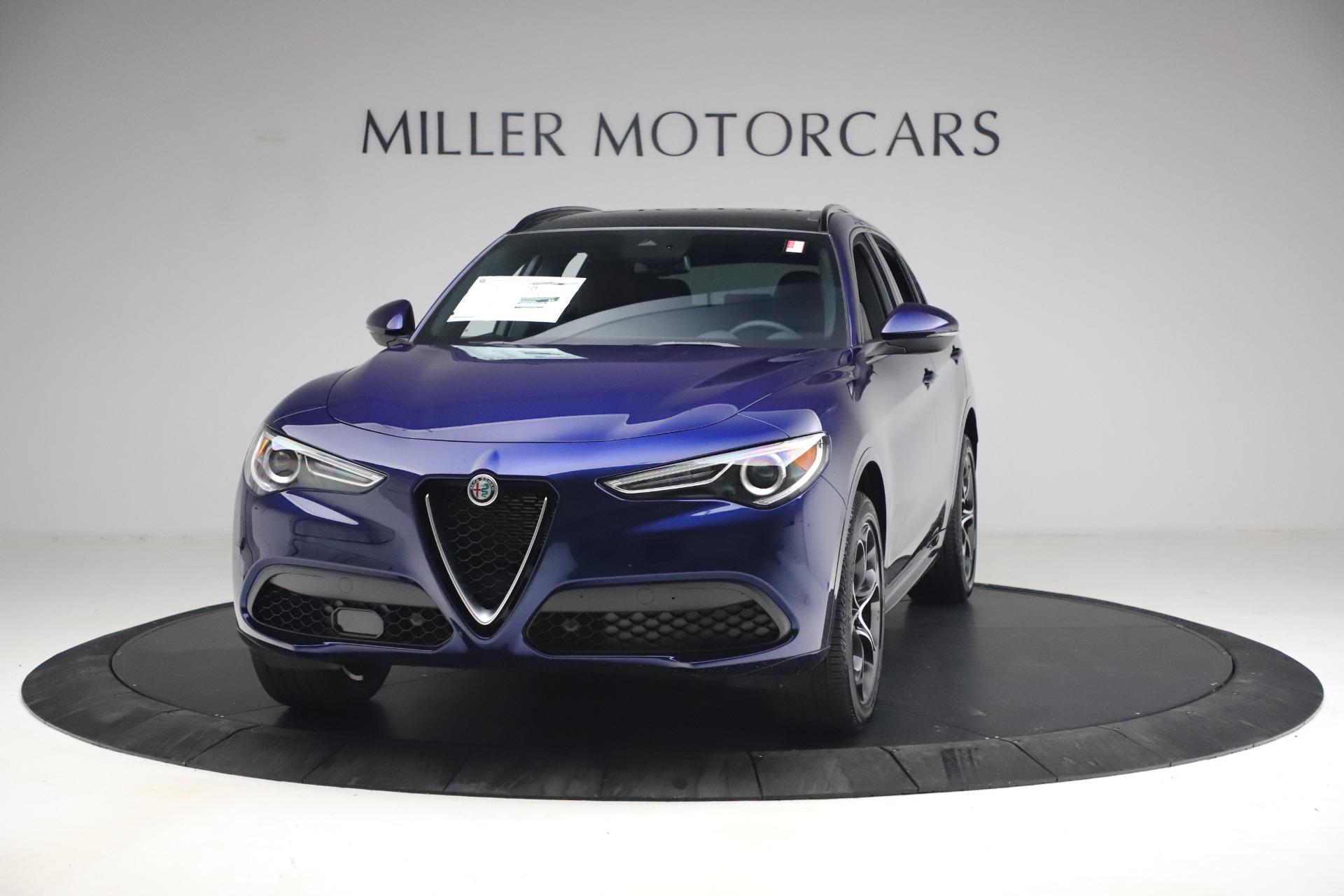 New 2021 Alfa Romeo Stelvio Ti Sport Q4 for sale $55,700 at McLaren Greenwich in Greenwich CT 06830 1
