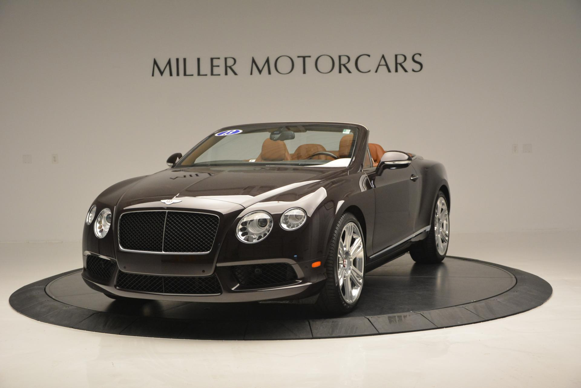 Used 2013 Bentley Continental GTC V8 for sale Sold at McLaren Greenwich in Greenwich CT 06830 1