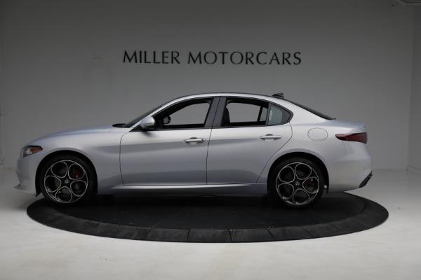 New 2021 Alfa Romeo Giulia Ti Sport Q4 for sale $53,050 at McLaren Greenwich in Greenwich CT 06830 2