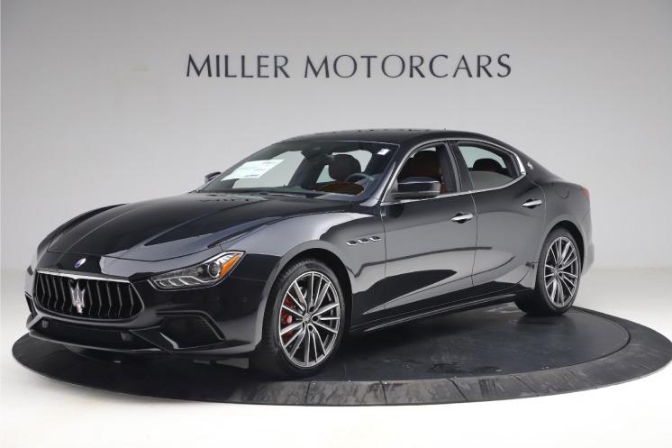 New 2021 Maserati Ghibli S Q4 for sale $89,775 at McLaren Greenwich in Greenwich CT 06830 1
