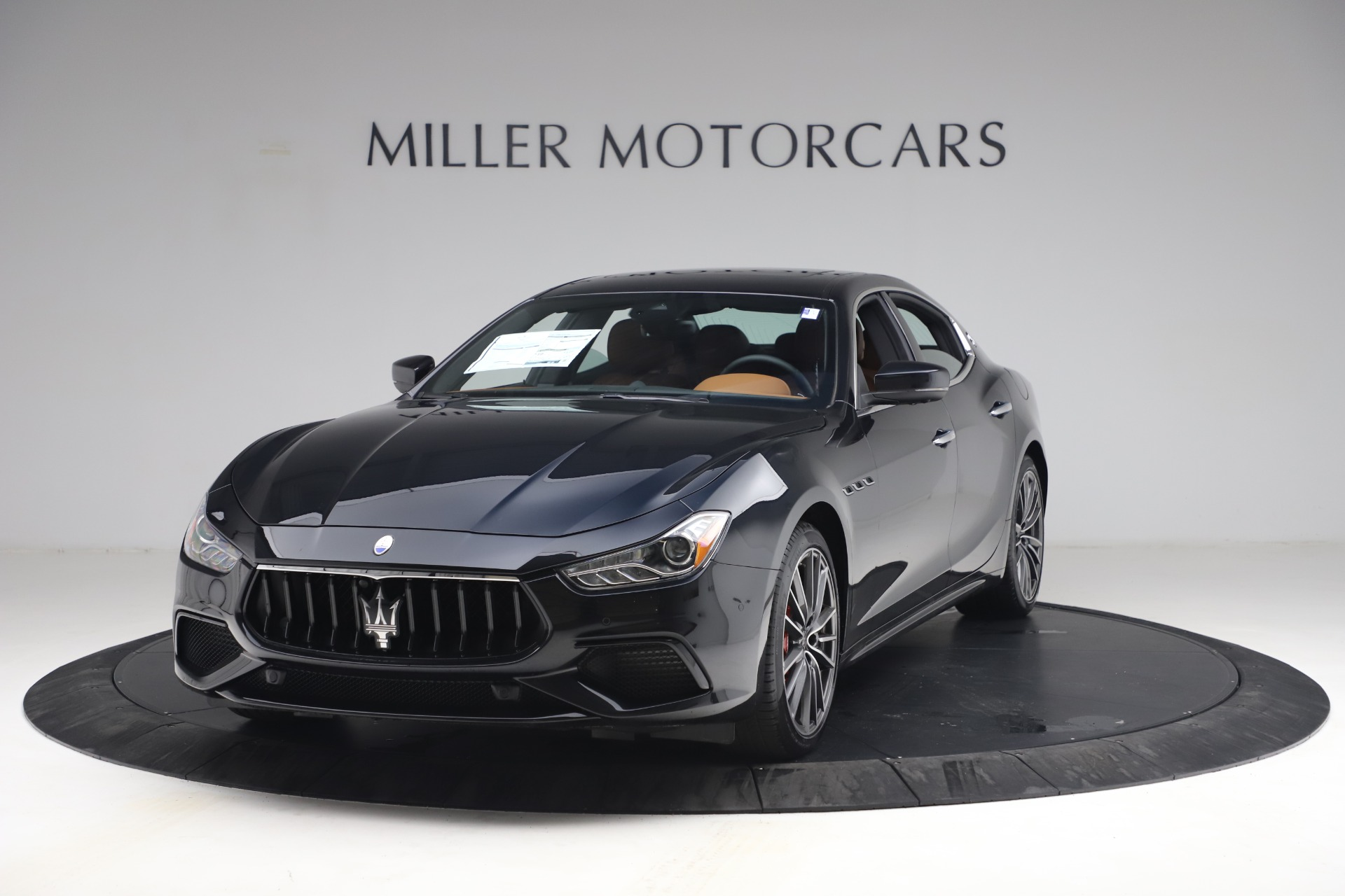 New 2021 Maserati Ghibli S Q4 for sale $90,675 at McLaren Greenwich in Greenwich CT 06830 1