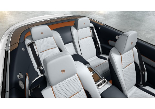 New 2021 Rolls-Royce Dawn for sale Sold at McLaren Greenwich in Greenwich CT 06830 4