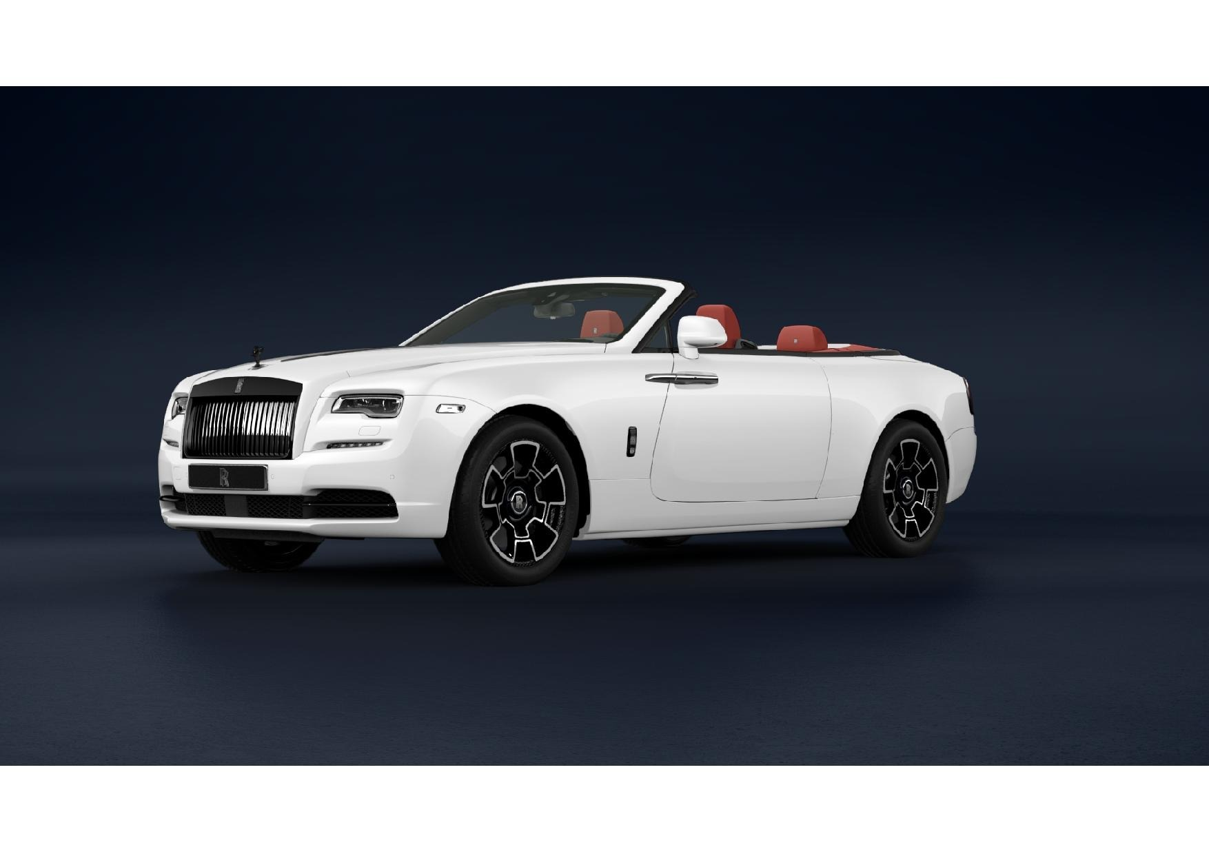 New 2021 Rolls-Royce Dawn Black Badge for sale Call for price at McLaren Greenwich in Greenwich CT 06830 1
