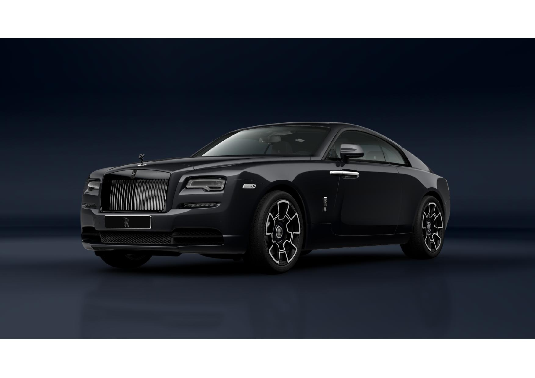 New 2021 Rolls-Royce Wraith Black Badge for sale Call for price at McLaren Greenwich in Greenwich CT 06830 1