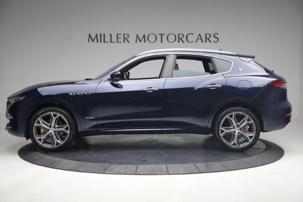 New 2021 Maserati Levante Q4 GranLusso for sale $93,385 at McLaren Greenwich in Greenwich CT 06830 3