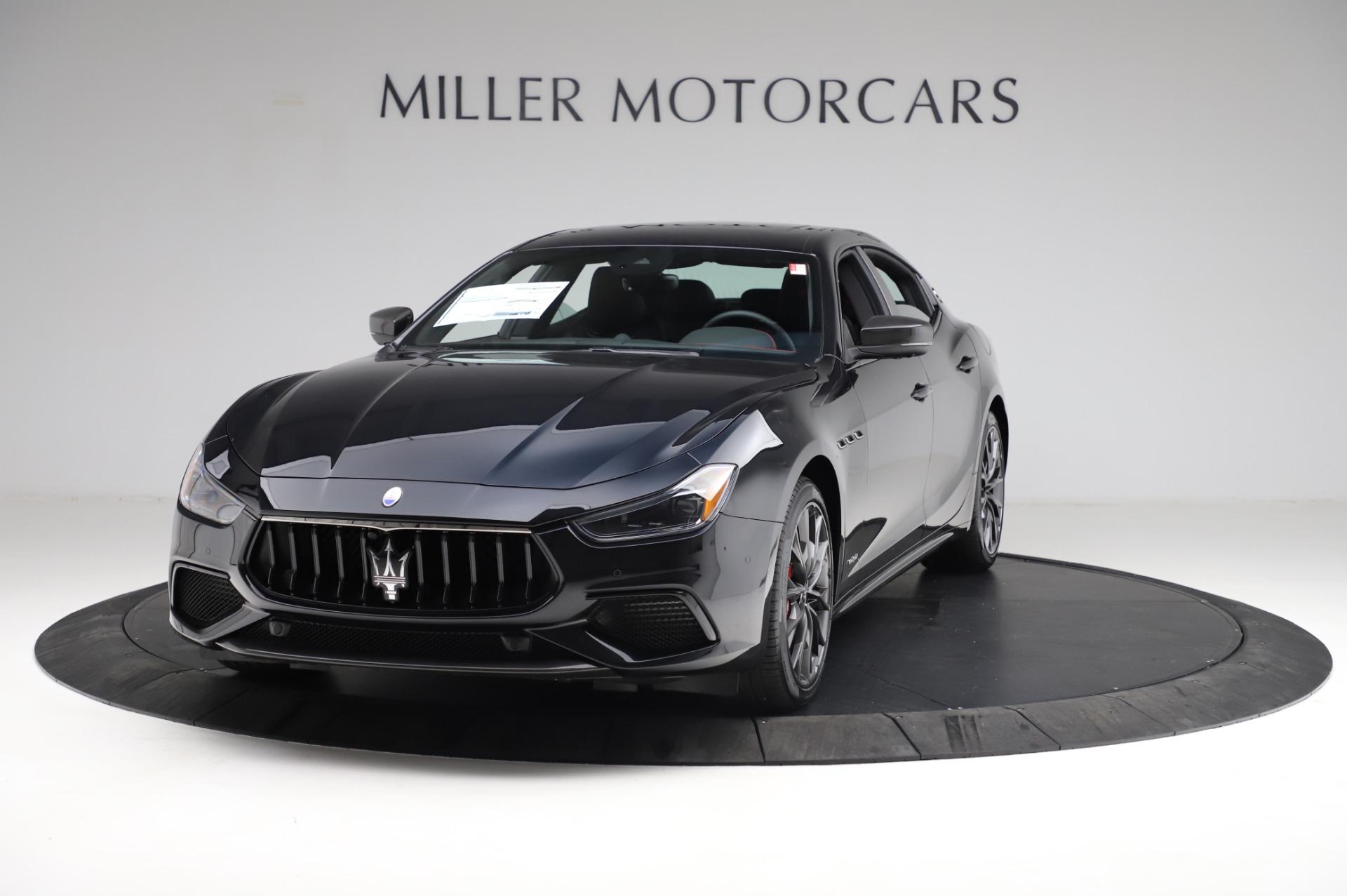 New 2021 Maserati Ghibli S Q4 GranSport for sale $100,635 at McLaren Greenwich in Greenwich CT 06830 1