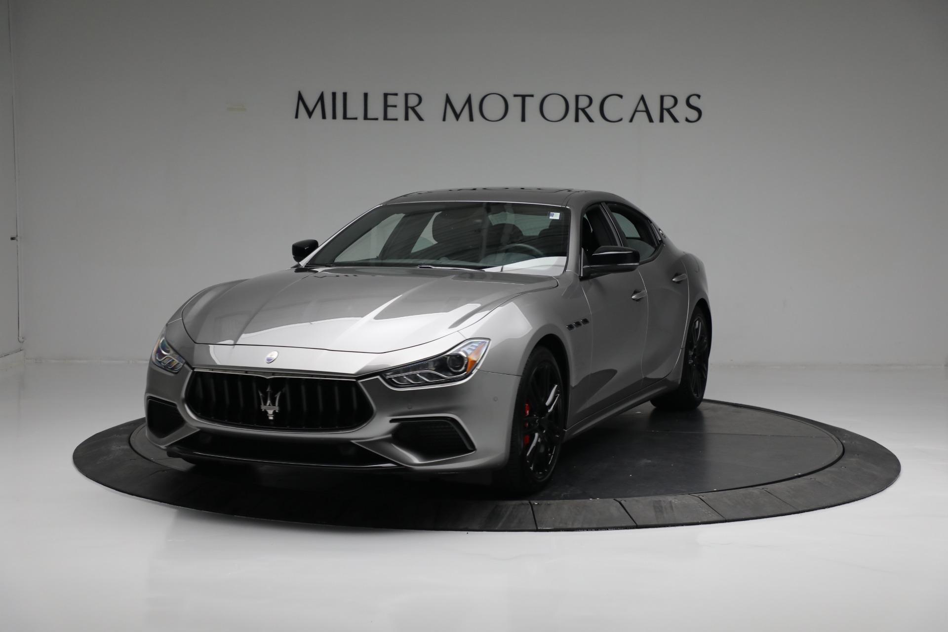 New 2021 Maserati Ghibli S Q4 for sale $90,075 at McLaren Greenwich in Greenwich CT 06830 1