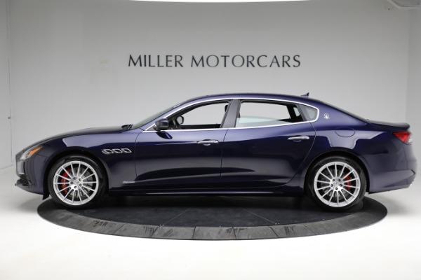 New 2021 Maserati Quattroporte S Q4 GranLusso for sale $125,149 at McLaren Greenwich in Greenwich CT 06830 3