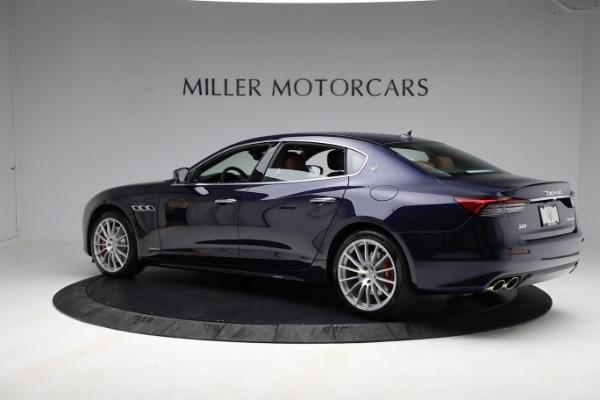 New 2021 Maserati Quattroporte S Q4 GranLusso for sale $125,149 at McLaren Greenwich in Greenwich CT 06830 4