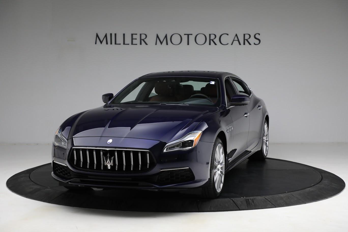 New 2021 Maserati Quattroporte S Q4 GranLusso for sale $125,149 at McLaren Greenwich in Greenwich CT 06830 1