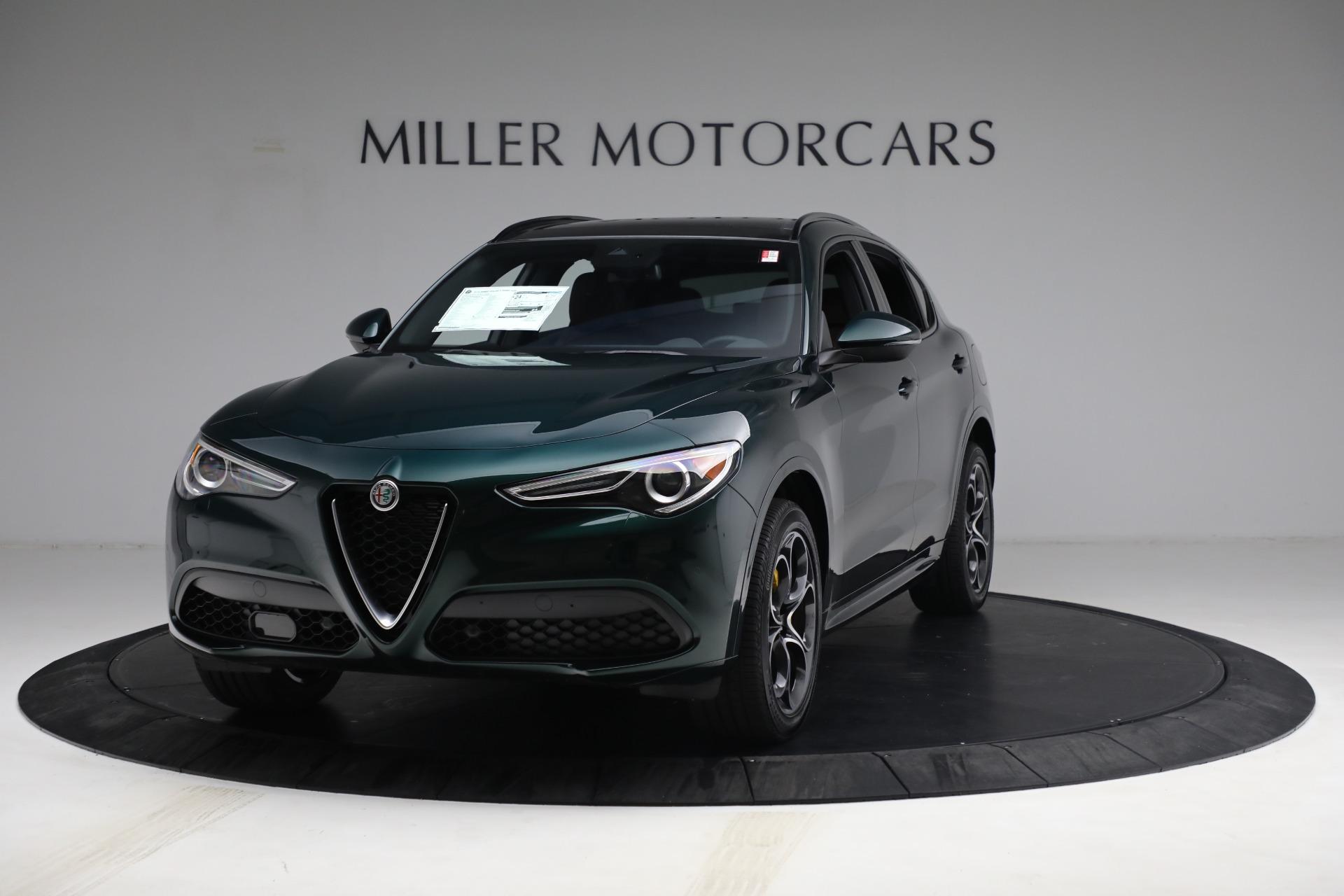 New 2021 Alfa Romeo Stelvio Ti Sport Q4 for sale $58,500 at McLaren Greenwich in Greenwich CT 06830 1