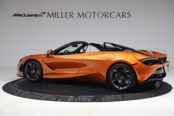 Used 2020 McLaren 720S Spider for sale $335,900 at McLaren Greenwich in Greenwich CT 06830 4