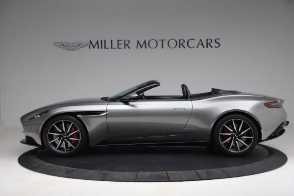 Used 2019 Aston Martin DB11 Volante for sale Call for price at McLaren Greenwich in Greenwich CT 06830 2