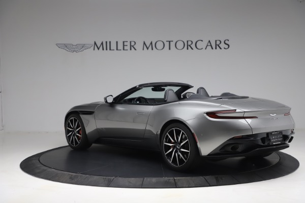 Used 2019 Aston Martin DB11 Volante for sale Call for price at McLaren Greenwich in Greenwich CT 06830 3