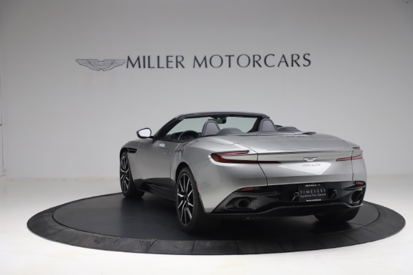Used 2019 Aston Martin DB11 Volante for sale Call for price at McLaren Greenwich in Greenwich CT 06830 4