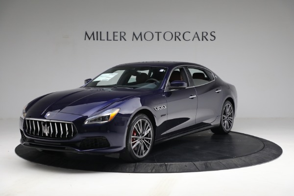 New 2021 Maserati Quattroporte S Q4 for sale $121,749 at McLaren Greenwich in Greenwich CT 06830 2