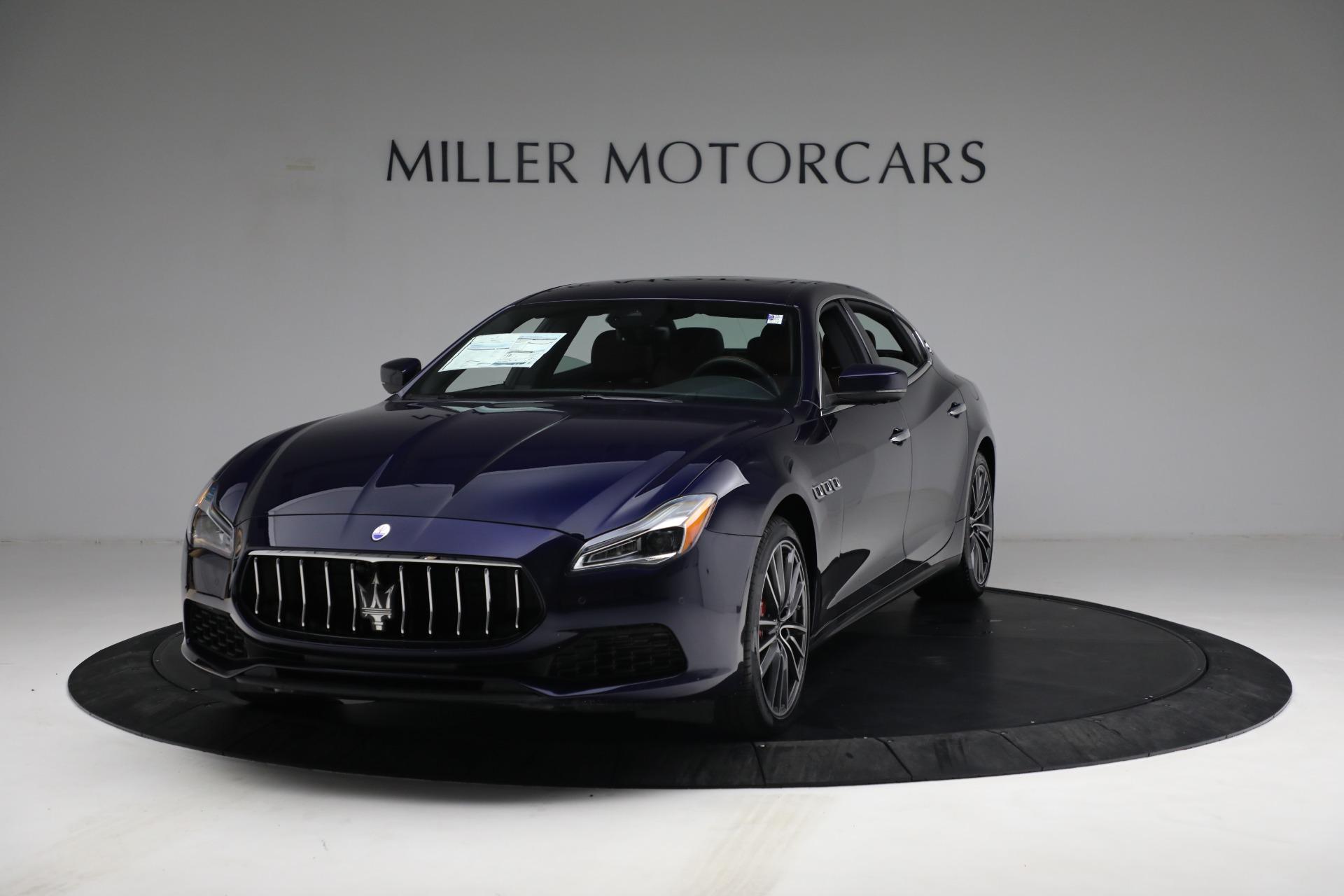 New 2021 Maserati Quattroporte S Q4 for sale $121,749 at McLaren Greenwich in Greenwich CT 06830 1
