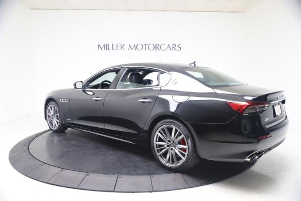 New 2021 Maserati Quattroporte S Q4 GranLusso for sale $129,135 at McLaren Greenwich in Greenwich CT 06830 4