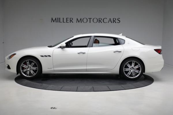 New 2021 Maserati Quattroporte S Q4 GranLusso for sale $120,599 at McLaren Greenwich in Greenwich CT 06830 3
