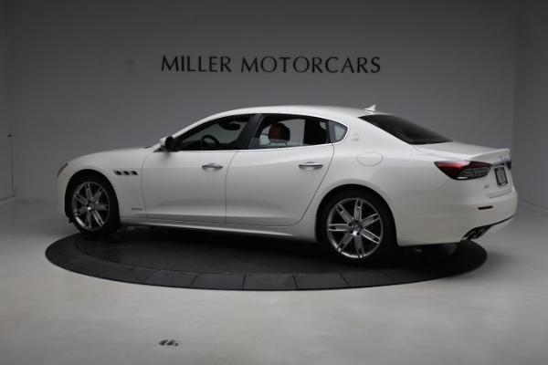 New 2021 Maserati Quattroporte S Q4 GranLusso for sale $120,599 at McLaren Greenwich in Greenwich CT 06830 4