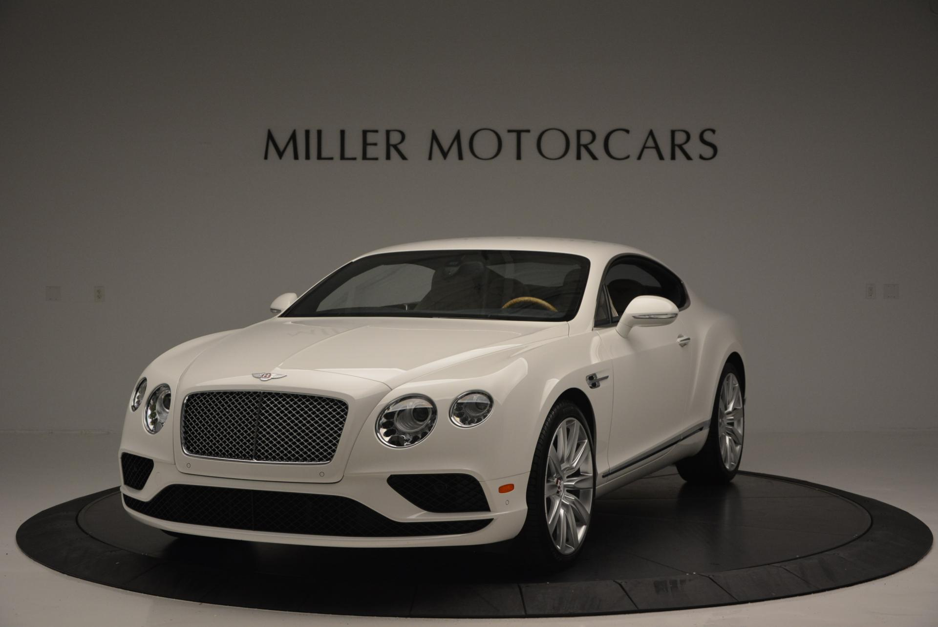 New 2016 Bentley Continental GT V8 for sale Sold at McLaren Greenwich in Greenwich CT 06830 1