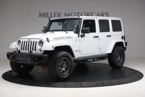 Used 2015 Jeep Wrangler Unlimited Rubicon Hard Rock for sale $39,900 at McLaren Greenwich in Greenwich CT 06830 2