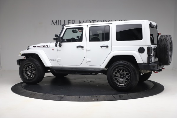 Used 2015 Jeep Wrangler Unlimited Rubicon Hard Rock for sale $39,900 at McLaren Greenwich in Greenwich CT 06830 4