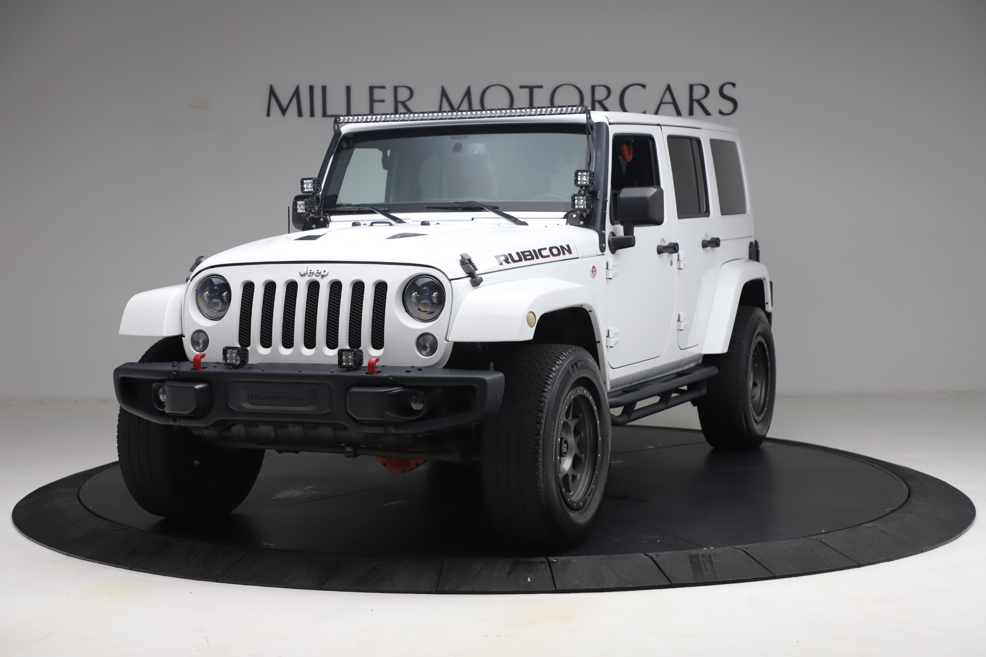 Used 2015 Jeep Wrangler Unlimited Rubicon Hard Rock for sale $39,900 at McLaren Greenwich in Greenwich CT 06830 1