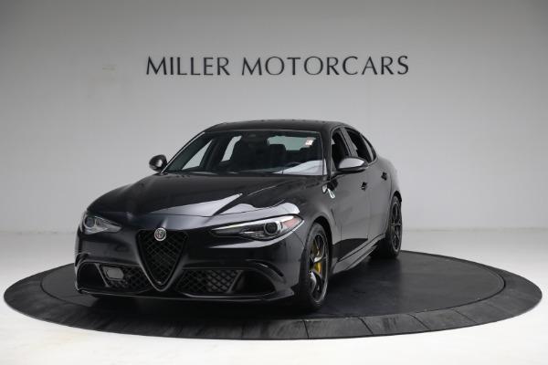New 2021 Alfa Romeo Giulia Quadrifoglio for sale $81,505 at McLaren Greenwich in Greenwich CT 06830 1