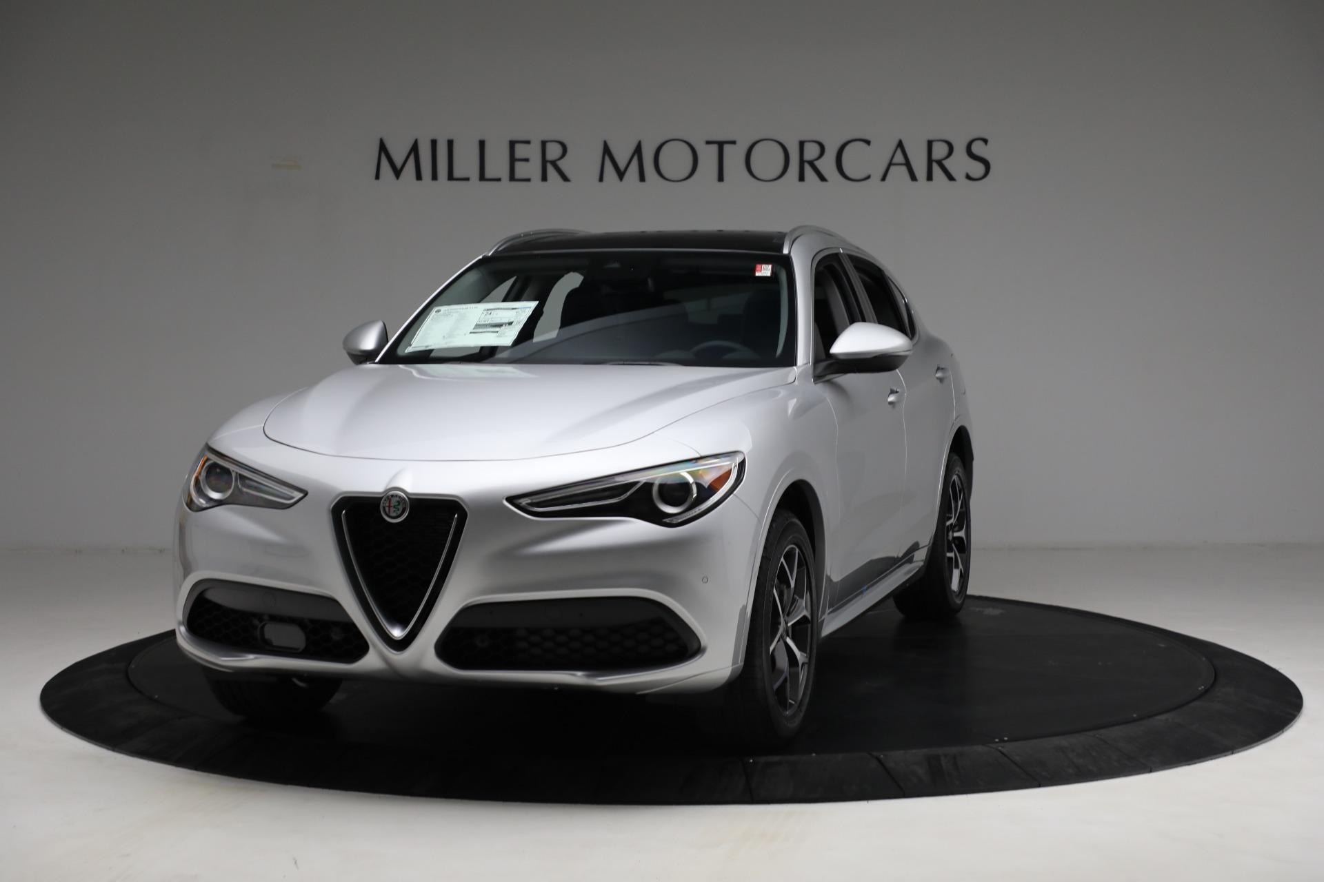New 2021 Alfa Romeo Stelvio Ti Q4 for sale Sold at McLaren Greenwich in Greenwich CT 06830 1