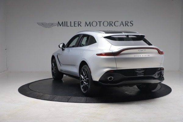 New 2021 Aston Martin DBX for sale $210,786 at McLaren Greenwich in Greenwich CT 06830 4
