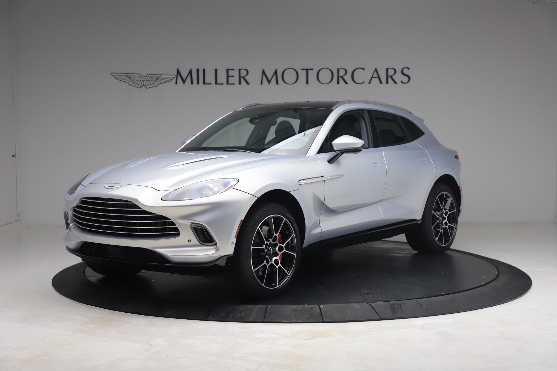 New 2021 Aston Martin DBX for sale $210,786 at McLaren Greenwich in Greenwich CT 06830 1