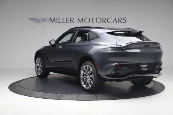 New 2021 Aston Martin DBX for sale $208,786 at McLaren Greenwich in Greenwich CT 06830 4