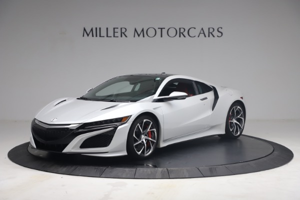 Used 2017 Acura NSX SH-AWD Sport Hybrid for sale $139,900 at McLaren Greenwich in Greenwich CT 06830 1