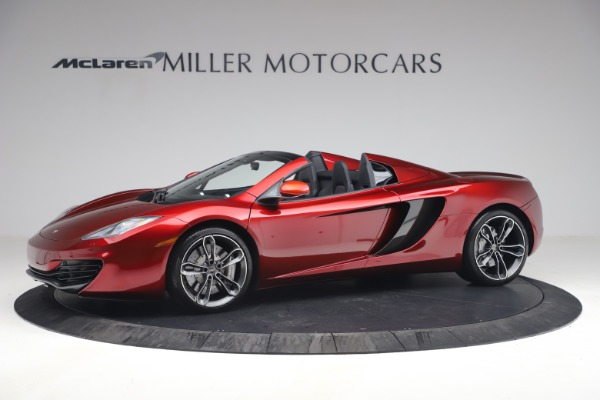 Used 2013 McLaren MP4-12C Spider for sale $134,900 at McLaren Greenwich in Greenwich CT 06830 2