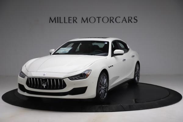 New 2021 Maserati Ghibli SQ4 for sale $85,804 at McLaren Greenwich in Greenwich CT 06830 1
