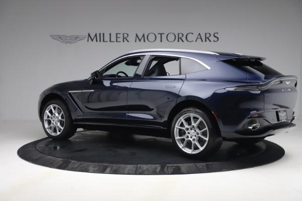 New 2021 Aston Martin DBX for sale $195,786 at McLaren Greenwich in Greenwich CT 06830 3
