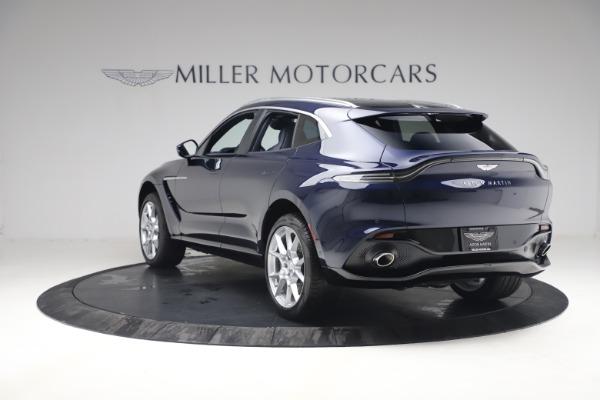 New 2021 Aston Martin DBX for sale $195,786 at McLaren Greenwich in Greenwich CT 06830 4