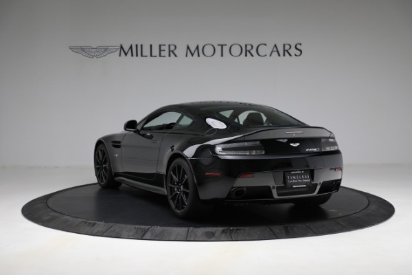 Used 2015 Aston Martin V12 Vantage S for sale $119,900 at McLaren Greenwich in Greenwich CT 06830 4