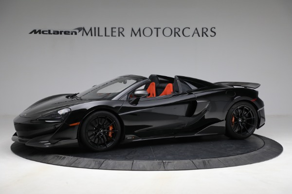Used 2020 McLaren 600LT Spider for sale Call for price at McLaren Greenwich in Greenwich CT 06830 2