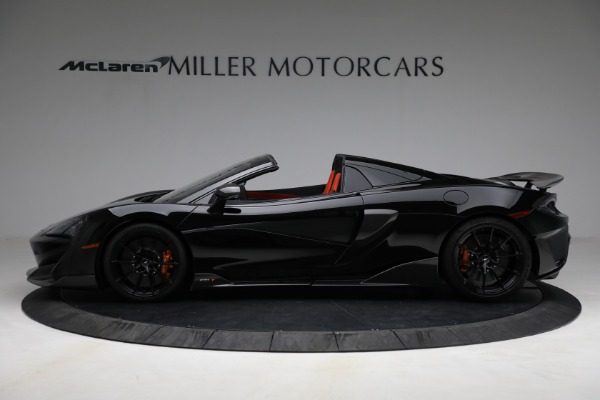 Used 2020 McLaren 600LT Spider for sale Call for price at McLaren Greenwich in Greenwich CT 06830 3