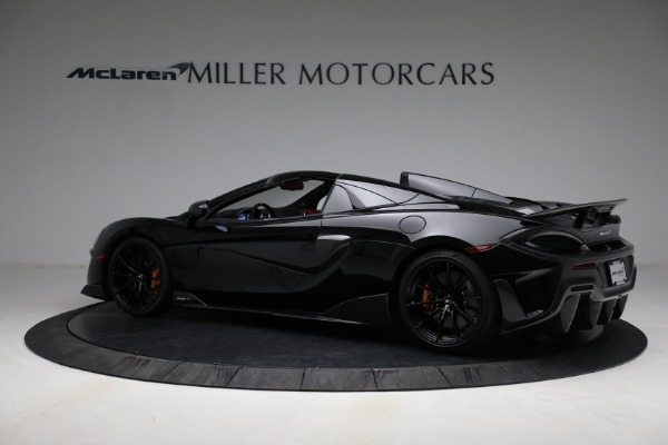 Used 2020 McLaren 600LT Spider for sale Call for price at McLaren Greenwich in Greenwich CT 06830 4