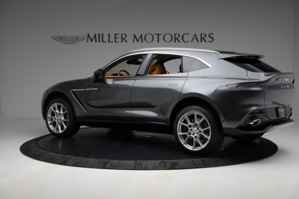New 2021 Aston Martin DBX for sale Sold at McLaren Greenwich in Greenwich CT 06830 3