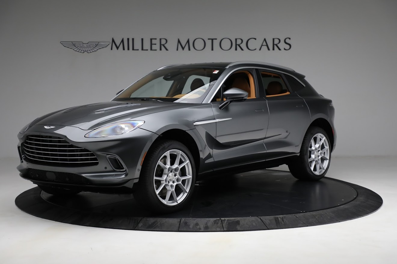 New 2021 Aston Martin DBX for sale Sold at McLaren Greenwich in Greenwich CT 06830 1