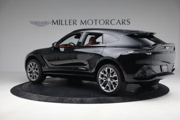 New 2021 Aston Martin DBX for sale $200,686 at McLaren Greenwich in Greenwich CT 06830 3