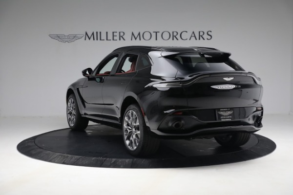 New 2021 Aston Martin DBX for sale $200,686 at McLaren Greenwich in Greenwich CT 06830 4