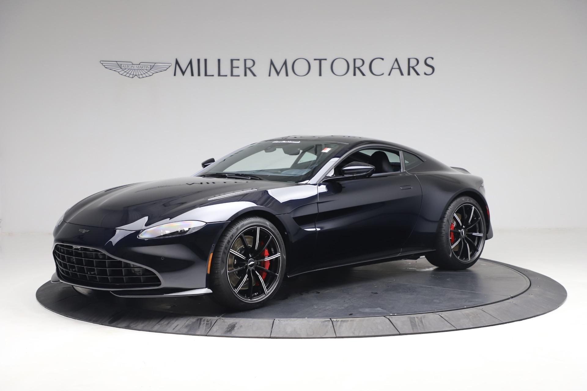 New 2021 Aston Martin Vantage for sale $189,686 at McLaren Greenwich in Greenwich CT 06830 1