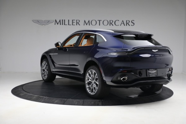 New 2021 Aston Martin DBX for sale $209,586 at McLaren Greenwich in Greenwich CT 06830 4